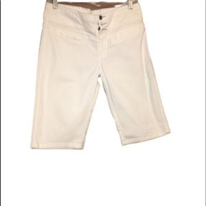 LEE ONE TRUE FIT White Jean shorts